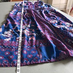 eshakti Dresses - 🔵 Gorgeous EShakti Fully Lined Crepe Maxi Dress